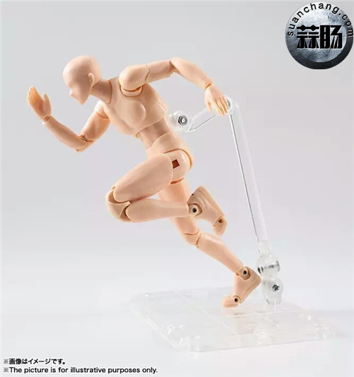 万代 S.H.Figuarts 男性素体DX SET(Pale orange Color Ver.) 模玩 第3张