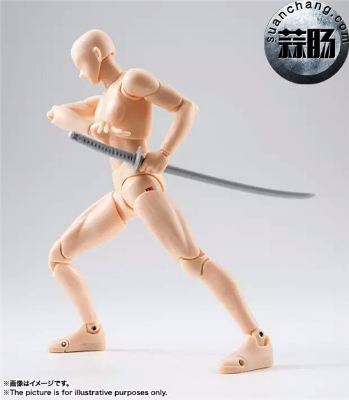 万代 S.H.Figuarts 男性素体DX SET(Pale orange Color Ver.) 模玩 第4张