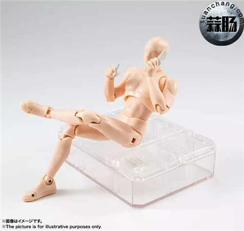 万代 S.H.Figuarts 男性素体DX SET(Pale orange Color Ver.) 模玩 第8张