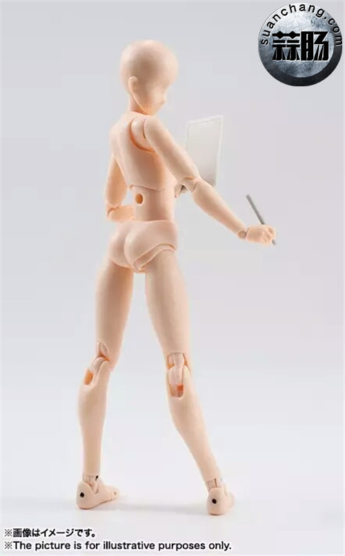 万代 S.H.Figuarts 女性素体DX SET(Pale orange Color Ver.) 模玩 第7张