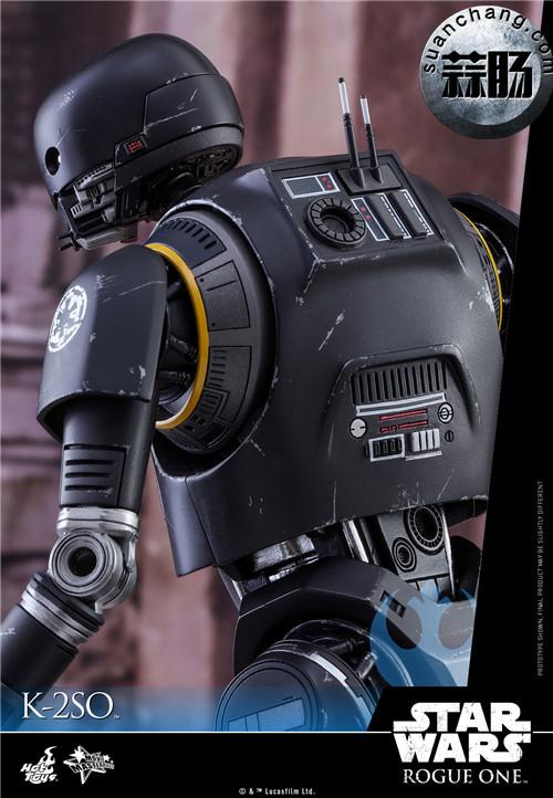 HotToys 《侠盗一号:星球大战外传》独创机械人K-2SO 1:6比例珍藏人偶 模玩 第6张