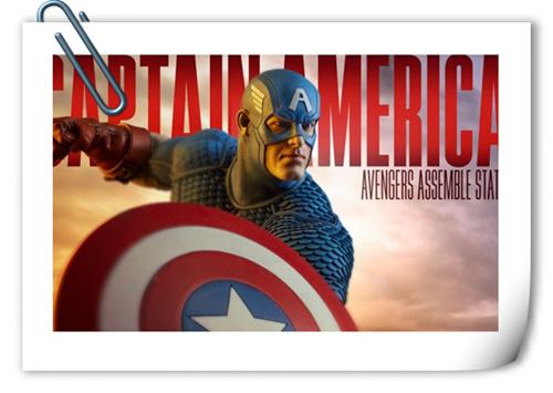 【SIDESHOW】复仇者集结 美国队长