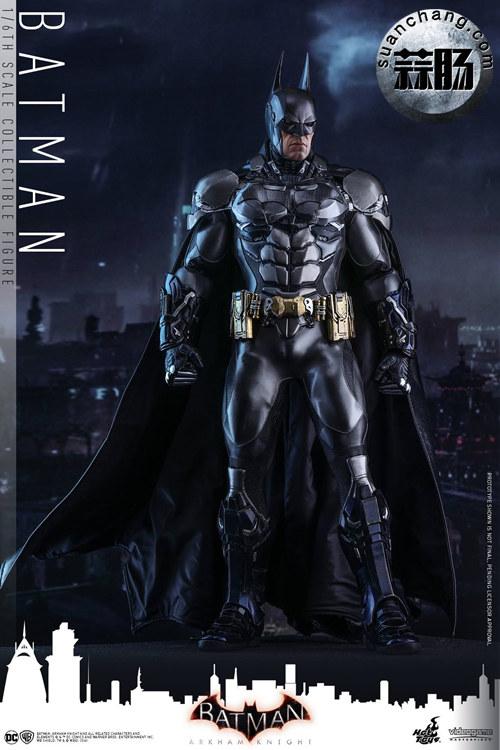 重磅消息——蝙蝠侠游戏版本出人偶了???Hottoys 新品《蝙蝠侠:阿甘骑士》来袭 模玩 第1张
