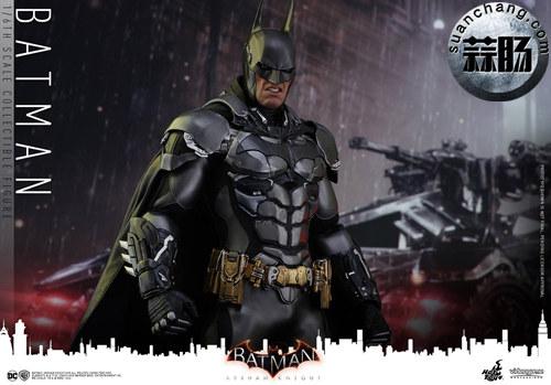 重磅消息——蝙蝠侠游戏版本出人偶了???Hottoys 新品《蝙蝠侠:阿甘骑士》来袭 模玩 第8张