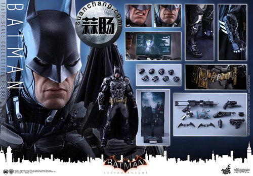 重磅消息——蝙蝠侠游戏版本出人偶了???Hottoys 新品《蝙蝠侠:阿甘骑士》来袭 模玩 第10张