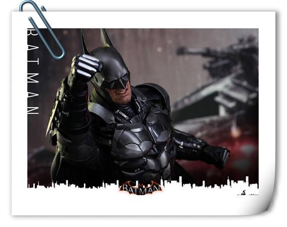 重磅消息——蝙蝠侠游戏版本出人偶了???Hottoys 新品《蝙蝠侠:阿甘骑士》来袭