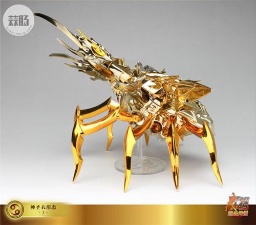 圣衣神话EX黄金魂之4—巨蟹座迪斯马斯克 模玩 第25张