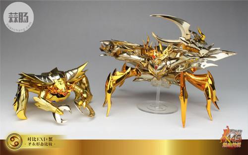 圣衣神话EX黄金魂之4—巨蟹座迪斯马斯克 模玩 第41张