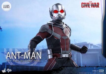 HotToys新品 MMS362《美国队长3 内战》蚁人 2.0 Ant-Man