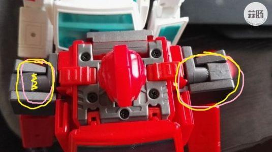 关于MP30救护车双肩齿轮关节方向导致车身细缝问题
