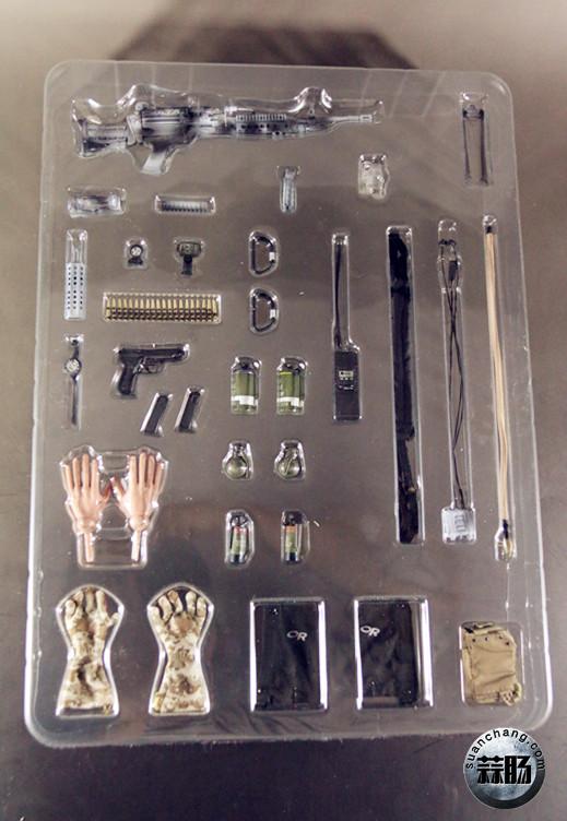 2016会场版雪地海豹机枪手开盒测评分享 模玩 第7张