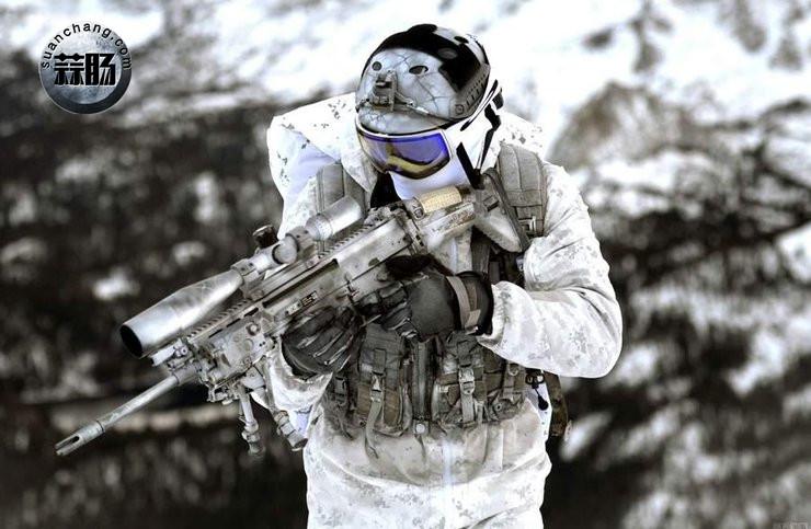 2016会场版雪地海豹NSW机枪手素组分享 模玩 第1张