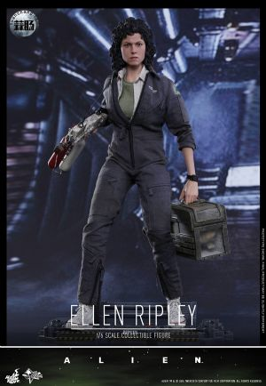HotToys 新品MMS366《异形》- 女主角 雷普莉 Ellen Ripley 与小猫