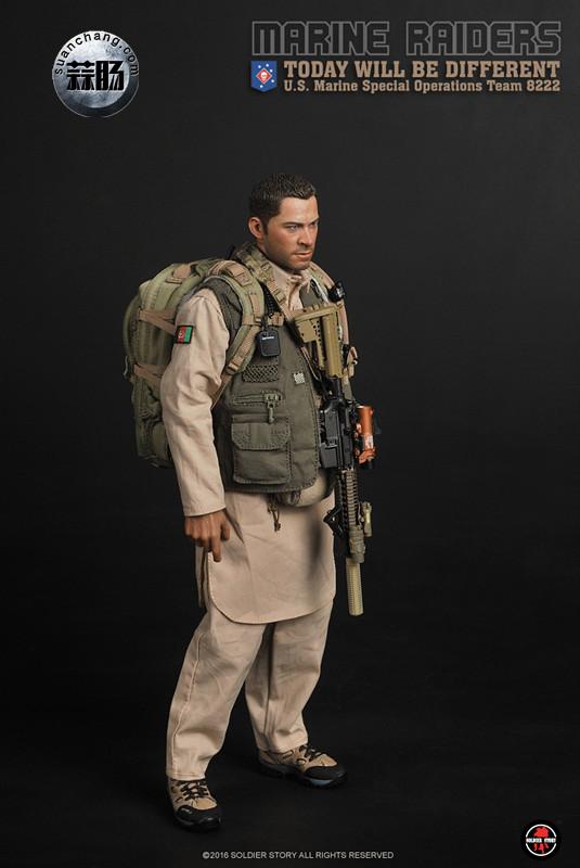 SoldierStory 新品:1/6 美国海军陆战队 - 特种作战小队 MSOT 8222 模玩 第13张