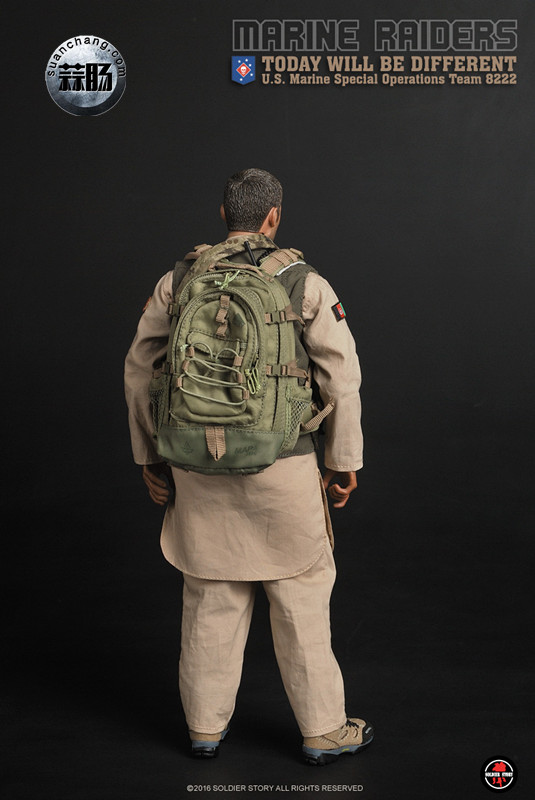 SoldierStory 新品:1/6 美国海军陆战队 - 特种作战小队 MSOT 8222 模玩 第14张