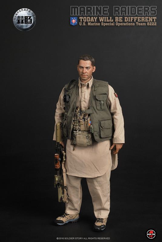 SoldierStory 新品:1/6 美国海军陆战队 - 特种作战小队 MSOT 8222 模玩 第15张
