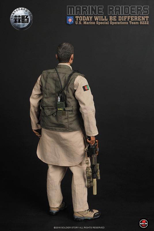 SoldierStory 新品:1/6 美国海军陆战队 - 特种作战小队 MSOT 8222 模玩 第16张
