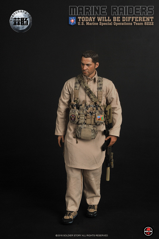 SoldierStory 新品:1/6 美国海军陆战队 - 特种作战小队 MSOT 8222 模玩 第17张
