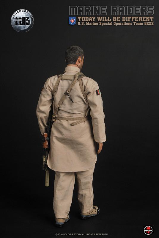 SoldierStory 新品:1/6 美国海军陆战队 - 特种作战小队 MSOT 8222 模玩 第18张