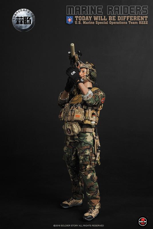SoldierStory 新品:1/6 美国海军陆战队 - 特种作战小队 MSOT 8222 模玩 第21张
