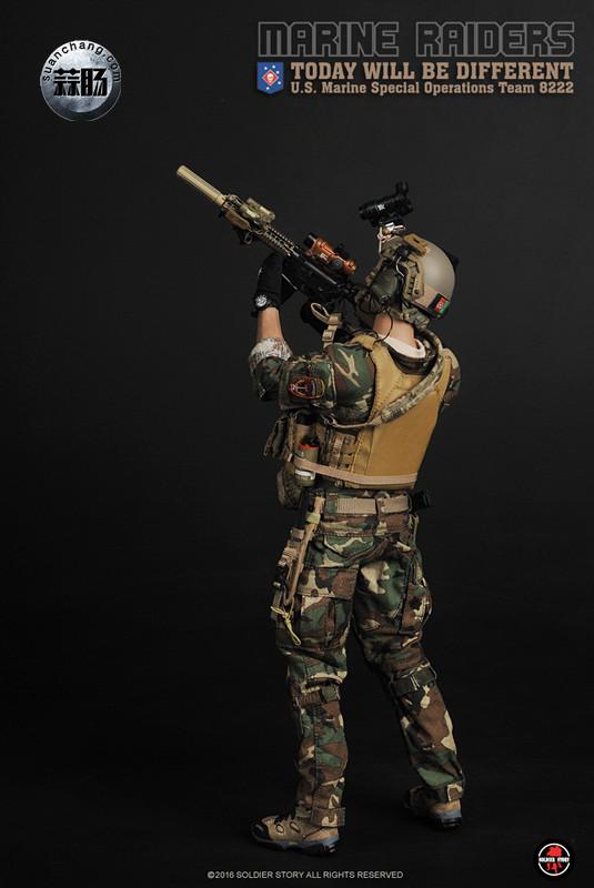 SoldierStory 新品:1/6 美国海军陆战队 - 特种作战小队 MSOT 8222 模玩 第22张