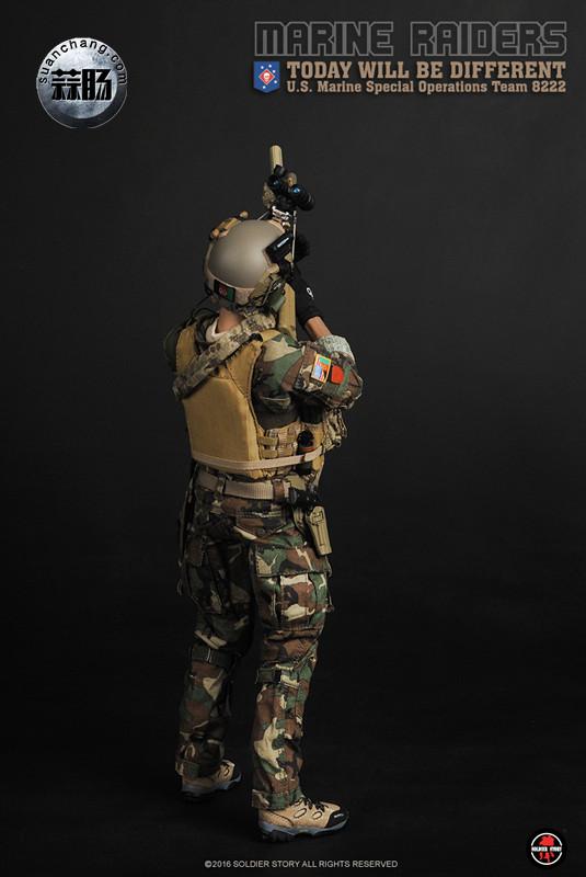 SoldierStory 新品:1/6 美国海军陆战队 - 特种作战小队 MSOT 8222 模玩 第23张