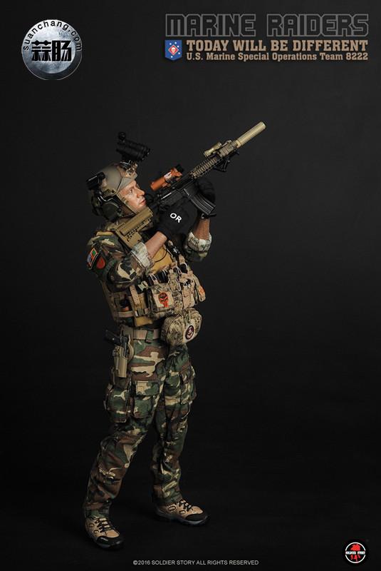 SoldierStory 新品:1/6 美国海军陆战队 - 特种作战小队 MSOT 8222 模玩 第24张