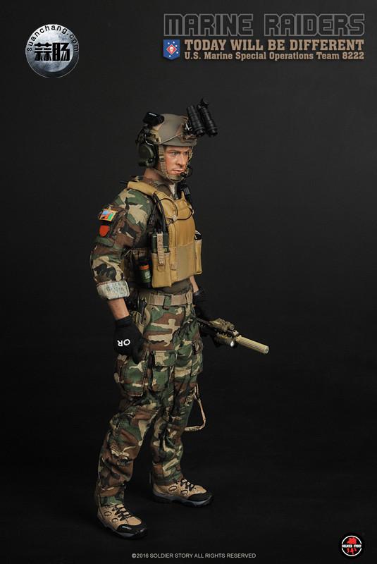 SoldierStory 新品:1/6 美国海军陆战队 - 特种作战小队 MSOT 8222 模玩 第26张