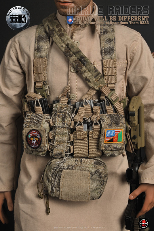 SoldierStory 新品:1/6 美国海军陆战队 - 特种作战小队 MSOT 8222 模玩 第32张