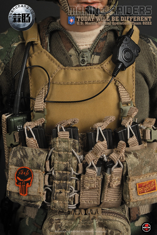 SoldierStory 新品:1/6 美国海军陆战队 - 特种作战小队 MSOT 8222 模玩 第33张