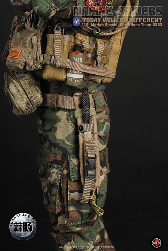 SoldierStory 新品:1/6 美国海军陆战队 - 特种作战小队 MSOT 8222 模玩 第35张