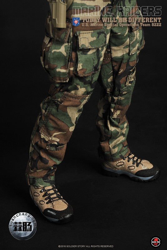 SoldierStory 新品:1/6 美国海军陆战队 - 特种作战小队 MSOT 8222 模玩 第37张