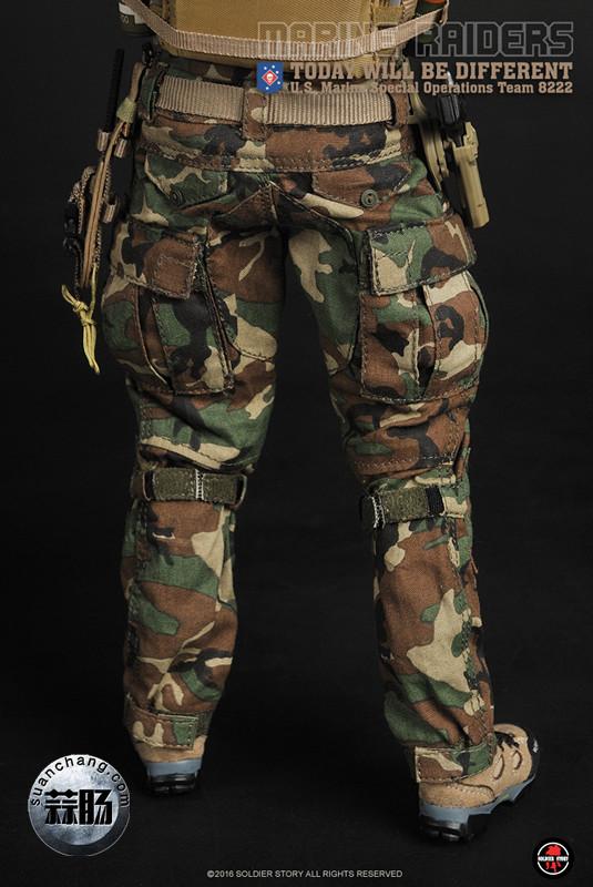 SoldierStory 新品:1/6 美国海军陆战队 - 特种作战小队 MSOT 8222 模玩 第38张