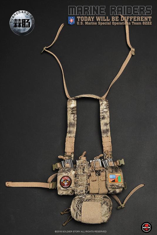 SoldierStory 新品:1/6 美国海军陆战队 - 特种作战小队 MSOT 8222 模玩 第42张