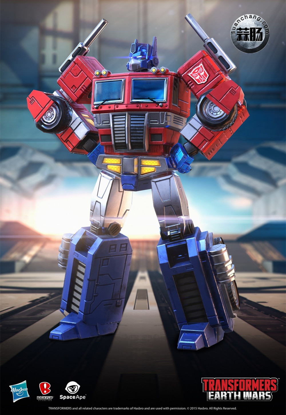 Transformers Earth Wars 游戏人物(一) 动态 第1张