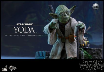 Hottoys 新品:《星球大战:帝国反击战》 犹达 / Yoda 大师