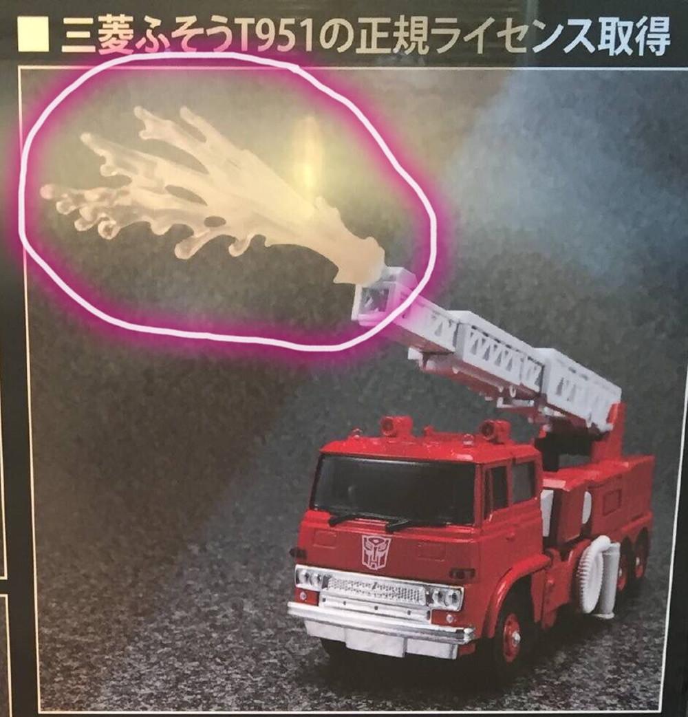 变形金刚新品:MP33消防车 动态 第5张