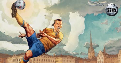 漫威与ESPN联合推出欧洲杯系列球员新形象 动漫 第5张