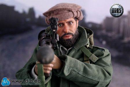 DID新品:1/6 抵抗红色帝国的入侵-1980 阿富汗战争 普什图族战士2