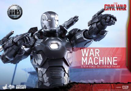 Hottoys 更新:1/6 压铸合金 MMS344D15《美队3》- 战争机器MK3