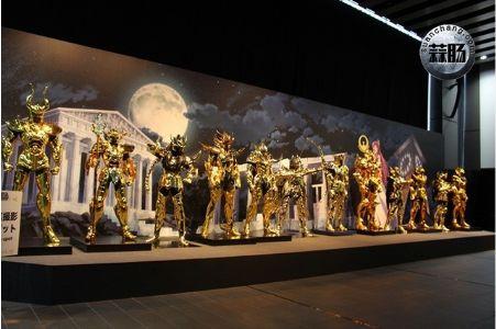 圣斗士星矢30周年展——黄金圣斗士(二)