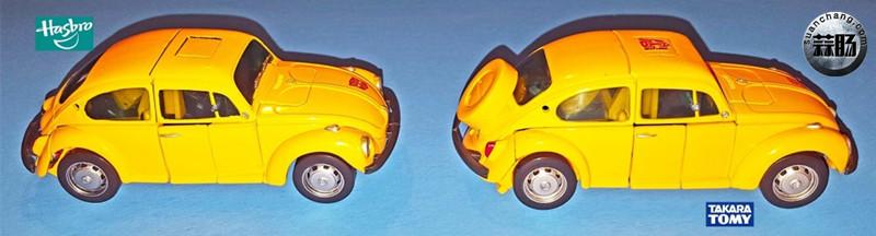 孩之宝杰作系列MP08与Takara Tomy MP21的不同之处 变形金刚 第12张