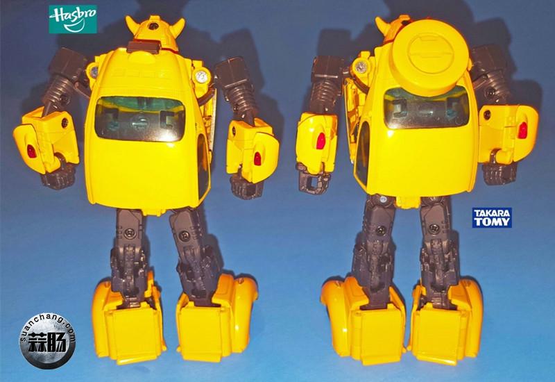 孩之宝杰作系列MP08与Takara Tomy MP21的不同之处 变形金刚 第14张