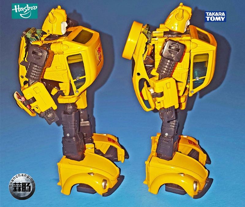 孩之宝杰作系列MP08与Takara Tomy MP21的不同之处 变形金刚 第16张