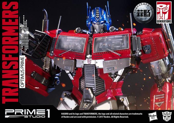 Prime 1 Studio 24寸擎天柱 G1版雕像 变形金刚 第12张