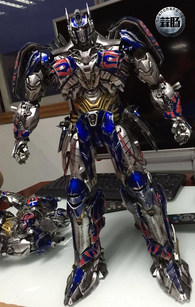 Comicave新品:1/22比例 超合金变形金刚 - 擎天柱 Optimus Prime 变形金刚 第3张