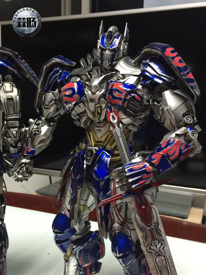 Comicave新品:1/22比例 超合金变形金刚 - 擎天柱 Optimus Prime 变形金刚 第4张