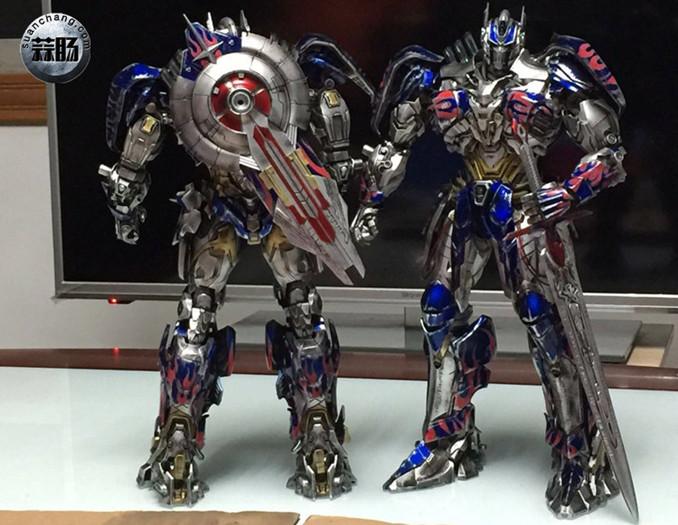 Comicave新品:1/22比例 超合金变形金刚 - 擎天柱 Optimus Prime 变形金刚 第8张