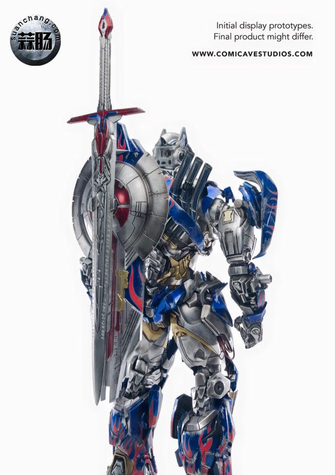 Comicave新品:1/22比例 超合金变形金刚 - 擎天柱 Optimus Prime 变形金刚 第11张