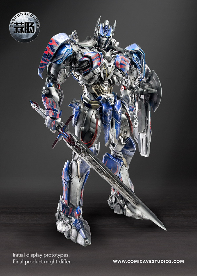Comicave新品:1/22比例 超合金变形金刚 - 擎天柱 Optimus Prime 变形金刚 第16张
